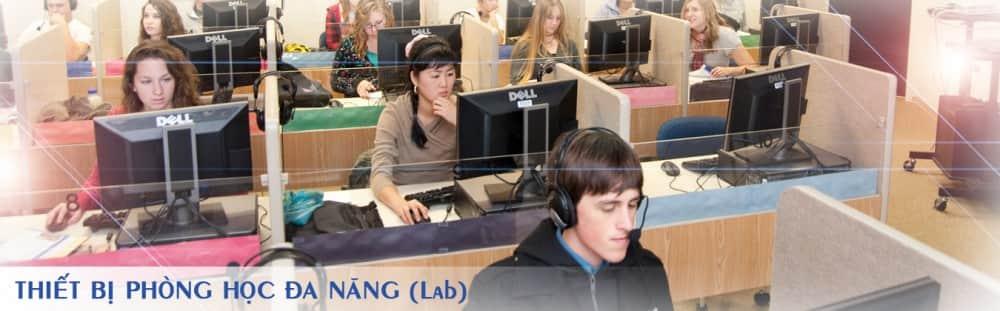 Phòng học ngoại ngữ, thiết bị phòng học ngoại ngữ