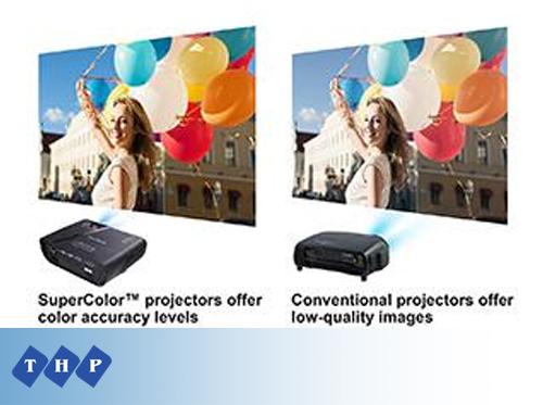 Máy chiếu viewsonic pjd5555w super color