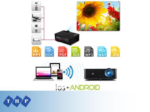 Máy chiếu Viewsonic PJD6345 LAN Wireless USB
