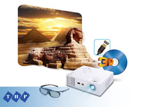 Máy chiếu VIEWSONIC PJD7822HDL 3D Bluray