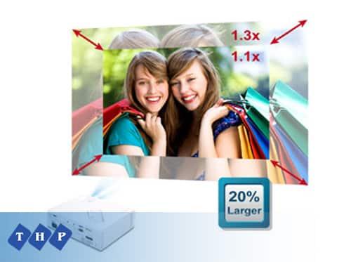 Máy chiếu VIEWSONIC PJD7822HDL zoom 1.3x