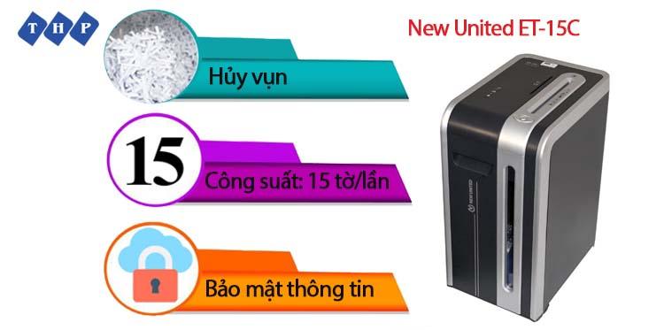 may huy tai lieu New United ET-15C