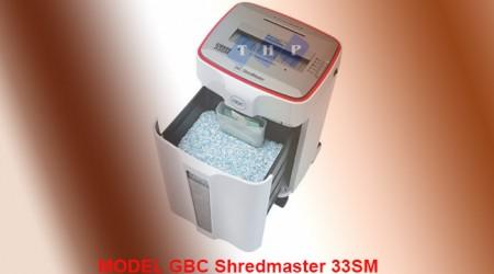 May huy giay GBC ShredMaster 33SM