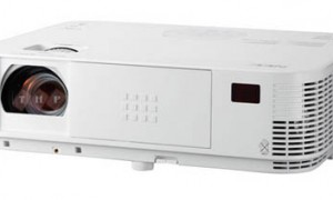 may chieu nec np-m402xg