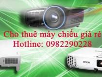 Dịch vụ cho thuê máy chiếu giá rẻ Hà Nội