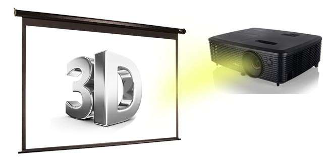 Optoma W341 trình chiếu 3D