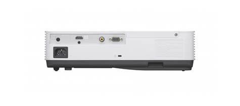 Sony VPL-DX221 mặt sau