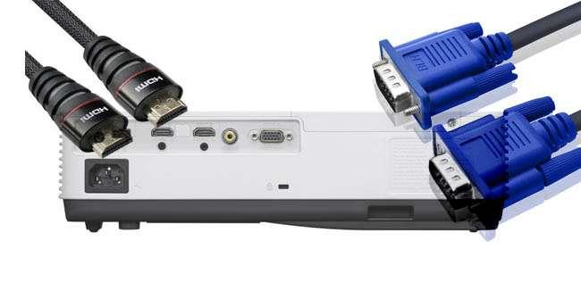 Sony VPL-DX241 cổng kết nối đa dạng