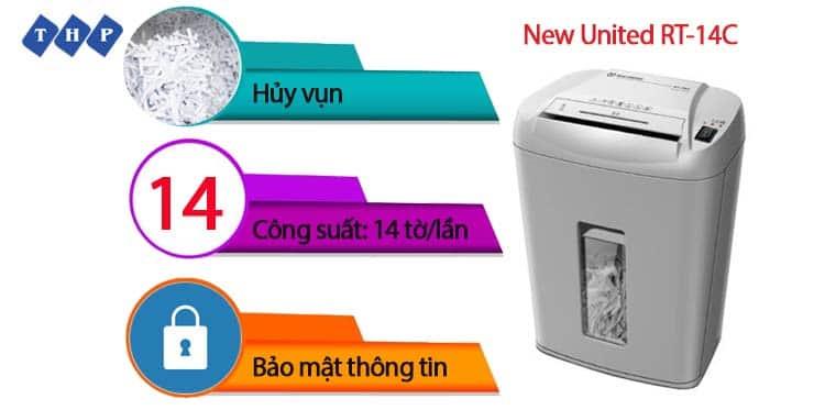 may huy tai lieu New United RT-14C