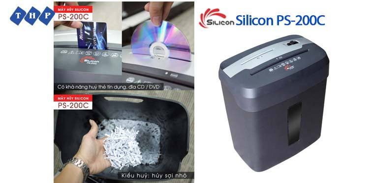 may huy tai lieu Silicon PS-200C