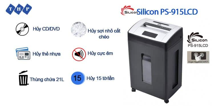 may huy tai lieu Silicon PS-915LCD