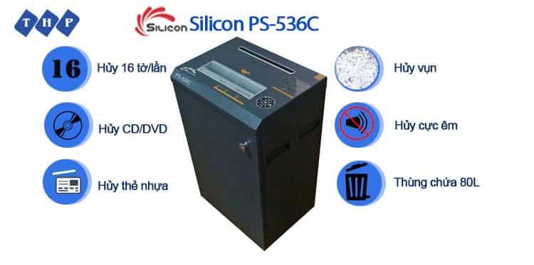 may huy tai lieu Silicon PS-536C