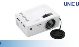Máy chiếu Mini UNIC UC18 - tanhoaphatcorp.vn