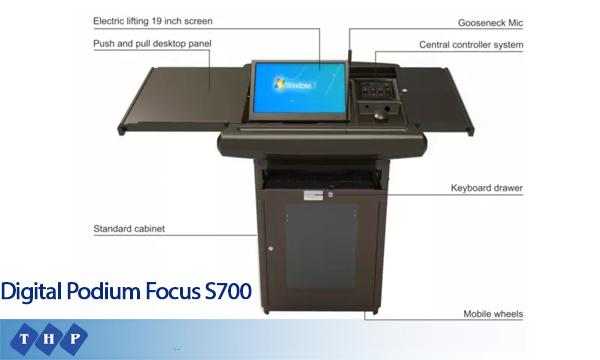 Bục Giảng Thông Minh Focus S700 - tanhoaphatcorp.vn