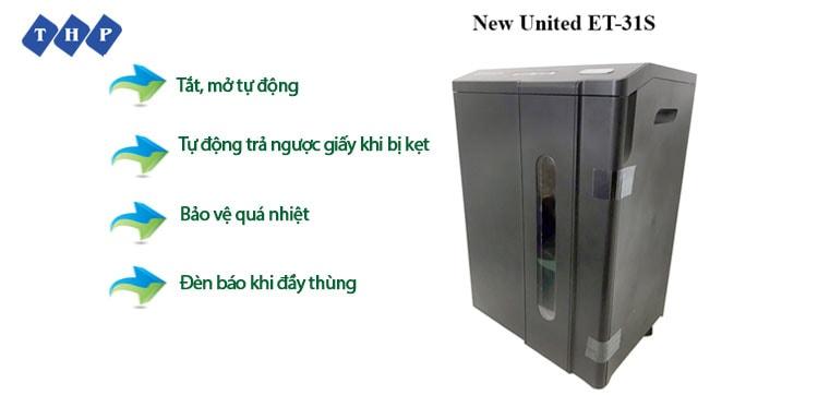 1 may huy tai lieu New United ET-31S