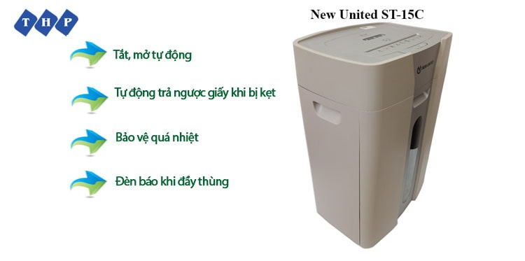 1 may huy tai lieu New United ST-15C