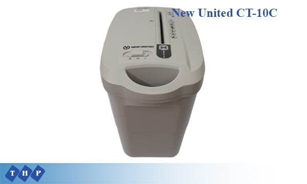 Máy hủy tài liệu New United CT-10C-tanhoaphatcorp.vn