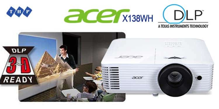 trinh chieu 3D-may chieu Acer X138WH-tanhoaphatcorp.vn