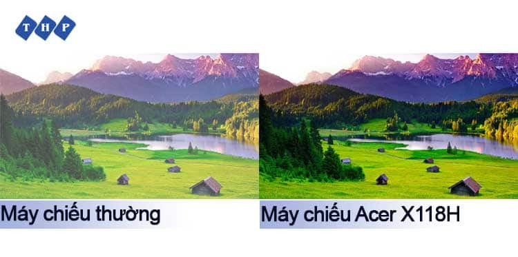 hinh anh ro net song dong-may chieu Acer X118H-tanhoaphatcorp.vn