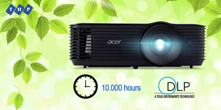 tuoi tho bong den cao-may chieu Acer X128H tanhoaphatcorp.vn