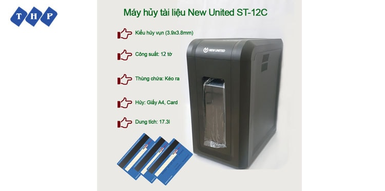 2 may huy tai lieu New United ST-12C tanhoaphatcorp